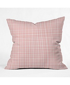 Lisa Argyropoulos Blushed Weave Throw Pillow