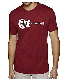 LA Pop Art Mens Premium Blend Word Art T-Shirt - Come Together