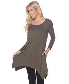 White Mark Women's Makayla Tunic