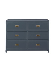 Frances 6-Drawer Dresser