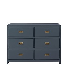 Baby Relax Frances 6-Drawer Dresser