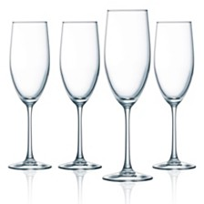 Luminarc Cachet Flute Glass - Set of 4