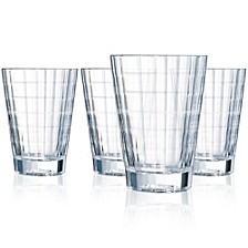 Cristal D' Arques Iroko Highball - Set of 4