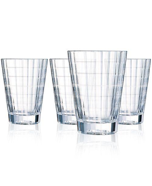 Cristal d'Arques Cristal D' Arques Iroko Highball - Set of 4