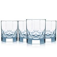 Topaz On The Rocks Glass - Set of 4