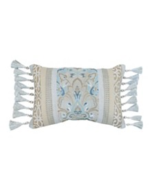 Croscill Emery 19x13 Boudoir Pillow Decorative Pillow
