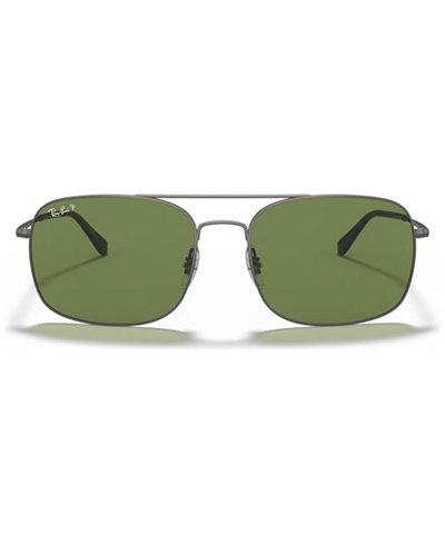 Ray-Ban Polarized Sunglasses, RB3611 60