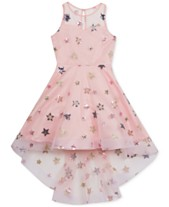 e2a8bf9cca8 Rare Editions Big Girls Embroidered Stars Dress