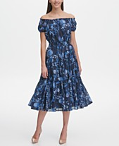 9a01d31b5a6 Tommy Hilfiger Floral Midi Cotton Swing Dress