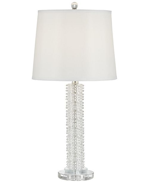 Pacific Coast Stacked Starburst Crystal Table Lamp