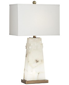 Pacific Coast Alabaster Table Lamp with Nightlight