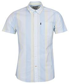 Men's Striped Button-Down Shirt