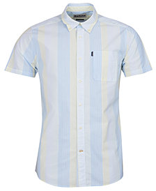 Barbour Men's Striped Button-Down Shirt