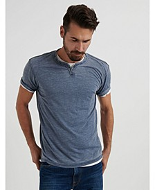 Men's Venice Burnout Notch T-Shirt