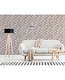 "Jomax Warehouse Brick Wallpaper - 396"" x 20.5"" x 0.025"""