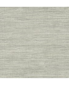 "Island Faux Grasscloth Wallpaper - 396"" x 20.5"" x 0.025"""