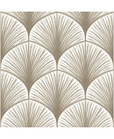 "Brewster Home Fashions Dusk Frond Wallpaper - 396"" x 20.5"" x 0.025"""