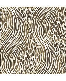 "Splendid Animal Print Wallpaper - 396"" x 20.5"" x 0.025"""