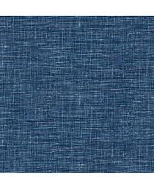"Exhale Faux Grasscloth Wallpaper - 396"" x 20.5"" x 0.025"""