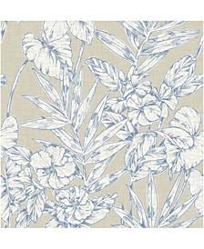 """Fiji Floral Wallpaper - 396"""" x 20.5"""" x 0.025"""""""