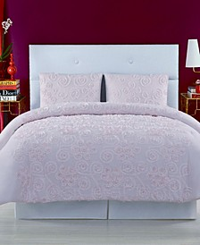 Pretty Petals Twin Extra Large Comforter Set