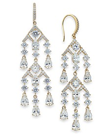 Cubic Zirconia Chandelier Drop Earrings, Created for Macy's
