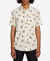 2a8069e53fc9 Volcom Mens Casual Button Down Shirts & Sports Shirts - Macy's
