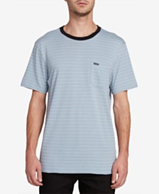 Volcom Men's Striped Pocket T-Shirt