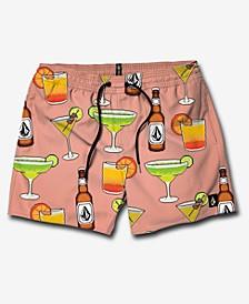 "Men's Graphic 17"" Swim Trunks"