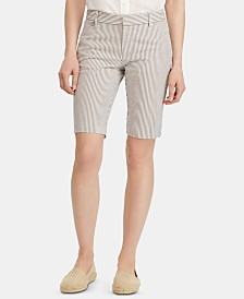 Lauren Ralph Lauren Slim Fit Shorts