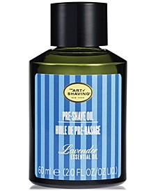 The Men's Lavender Pre-Shave Oil, 2 fl. oz.
