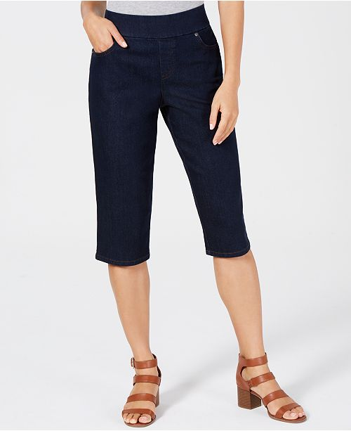 Style & Co Pull-On Skimmer Shorts, Created for Macy's