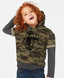 Epic Threads Little Boys Dino Graphic Hoodie, Created for Macy's