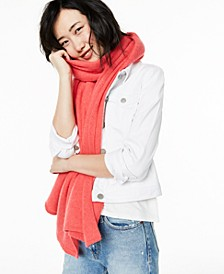 Oversized Cashmere Scarf, Created For Macy's