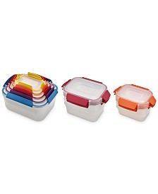 Joseph Joseph 96015 Nest Lock Plastic Food Storage Container Set
