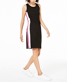 Varsity-Stripe Sheath Dress, Created for Macy's