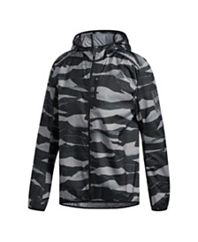 Adidas Men's Camo Own The Run Windbreaker