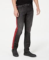 8c3feba5 Just Cavalli Men's Slim-Fit Logo Tape Jeans