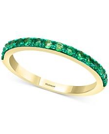 EFFY® Emerald (3/8 ct. t.w.) Ring in 14k Gold