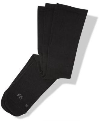 Black mens dress socks