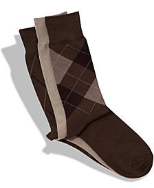 Men's 3-Pk. Patterned Dress Socks