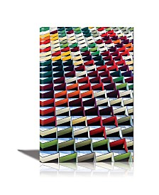 Eurographics Origami Framed Canvas Wall Art