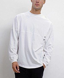 Men's Long-Sleeve Pullover Sweatshirt