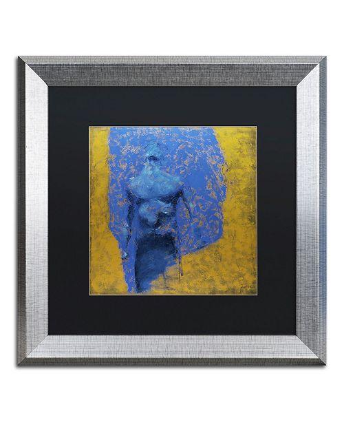 """Trademark Global Joarez 'Explosao' Matted Framed Art - 16"""" x 16"""""""