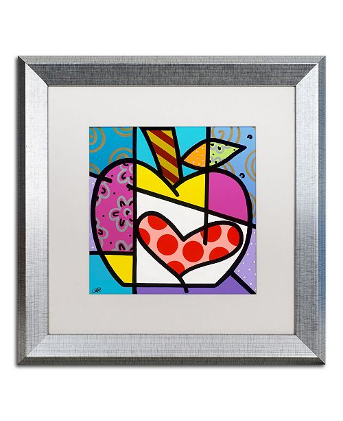 "Trademark Global Roberto Rafael 'Big Apple III' Matted Framed Art - 16"" x 16"""