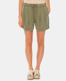 Vince Camuto Twill Shorts