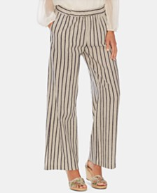 Vince Camuto Summer Striped Wide-Leg Pants