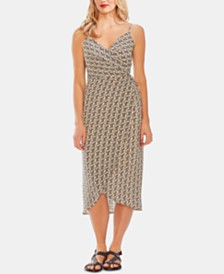 Vince Camuto Paisley-Print Wrap Dress