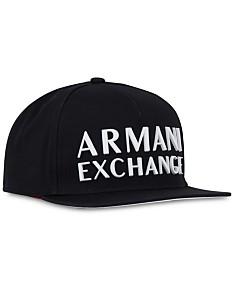 8774fbbe98efb A|X Armani Exchange Men's 3D Logo Snapback Hat