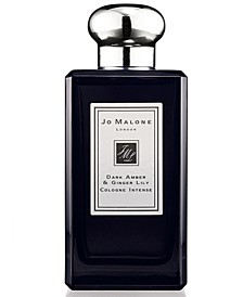 Dark Amber & Ginger Lily Cologne Intense, 3.4-oz.